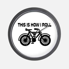 This Is How I Roll Bicycle Wall Clock