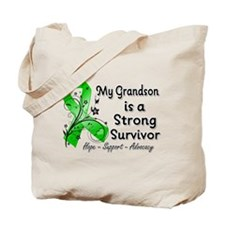 Grandson Strong Survivor Tote Bag