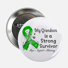 """Grandson Strong Survivor 2.25"""" Button"""