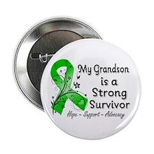 "Grandson Strong Survivor 2.25"" Button (100 pack)"