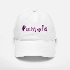Pamela Pink Giraffe Baseball Baseball Baseball Cap