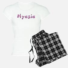 Nyasia Pink Giraffe Pajamas
