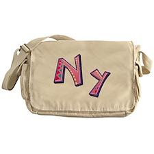 Nya Pink Giraffe Messenger Bag