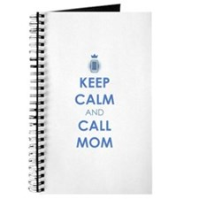 Keep Calm and Call Mom Journal