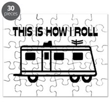 This Is How I Roll Motorhome Puzzle