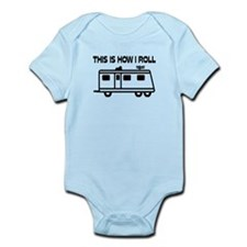This Is How I Roll Motorhome Infant Bodysuit