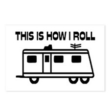 This Is How I Roll Motorh Postcards (Package of 8)