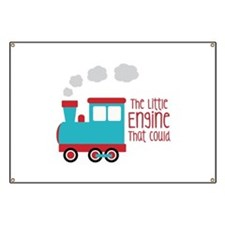 The Little Engine That Could Banner