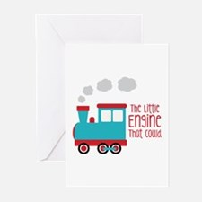 The Little Engine That Could Greeting Cards