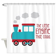 The Little Engine That Could Shower Curtain