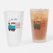 The Little Engine That Could Drinking Glass
