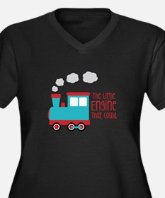 The Little Engine That Could Plus Size T-Shirt