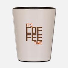 Coffee Time Shot Glass