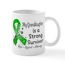 Granddaughter Strong Survivor Small Mug