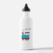 Steam Engine Train Water Bottle