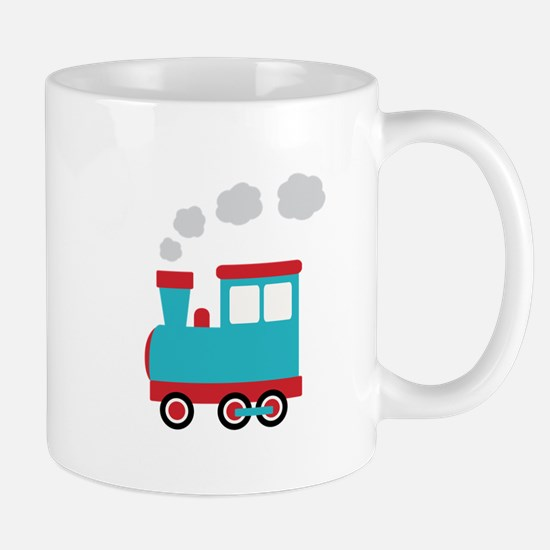 Steam Engine Train Mugs