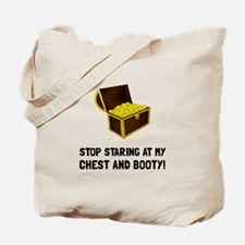 Chest And Booty Tote Bag