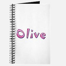 Olive Pink Giraffe Journal