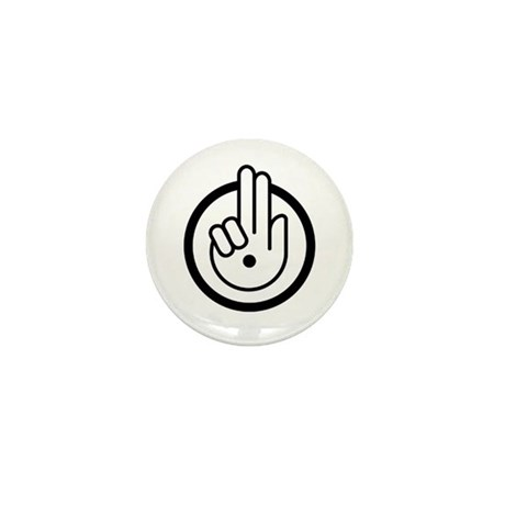 Pax Vobiscum Light Mini Button