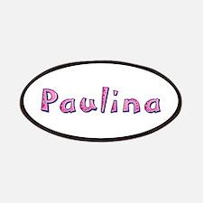 Paulina Pink Giraffe Patch