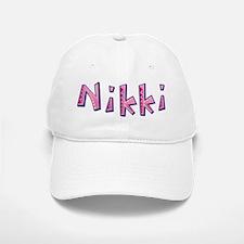 Nikki Pink Giraffe Baseball Baseball Baseball Cap