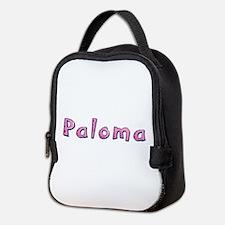 Paloma Pink Giraffe Neoprene Lunch Bag
