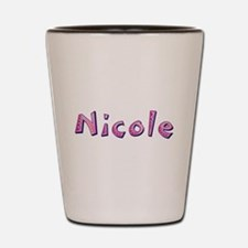 Nicole Pink Giraffe Shot Glass