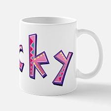 Nicky Pink Giraffe Mugs