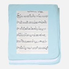 Keep Of The Promise Song Sheet Music baby blanket