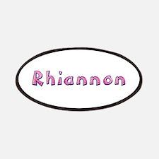 Rhiannon Pink Giraffe Patch