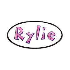Rylie Pink Giraffe Patch