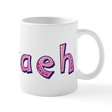 Nevaeh Pink Giraffe Mugs