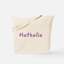 Nathalie Pink Giraffe Tote Bag