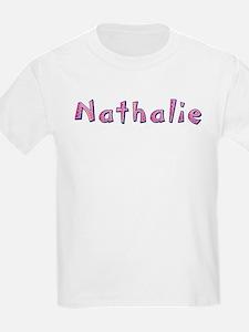 Nathalie Pink Giraffe T-Shirt