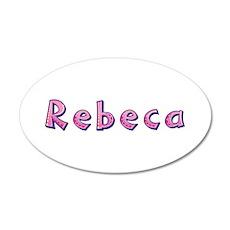 Rebeca Pink Giraffe Wall Decal