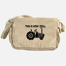 This Is How I Roll Farming Tractor Messenger Bag