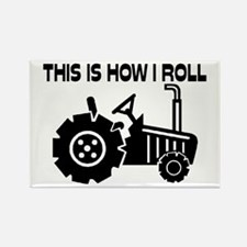This Is How I Roll Farm Rectangle Magnet (10 pack)