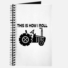This Is How I Roll Farming Tractor Journal