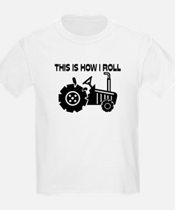 This Is How I Roll Farming Trac T-Shirt