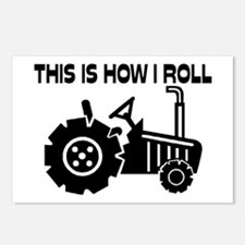 This Is How I Roll Farmin Postcards (Package of 8)
