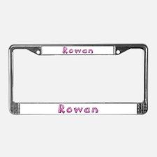 Rowan Pink Giraffe License Plate Frame