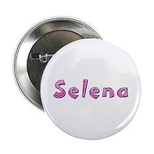 Selena Pink Giraffe Button
