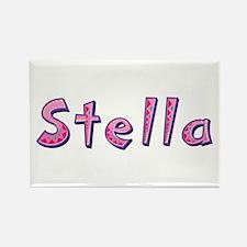 Stella Pink Giraffe Rectangle Magnet