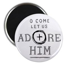 """Adore Him 2.25"""" Magnet (100 pack)"""