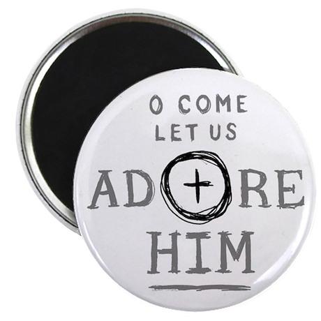 Adore Him Magnet