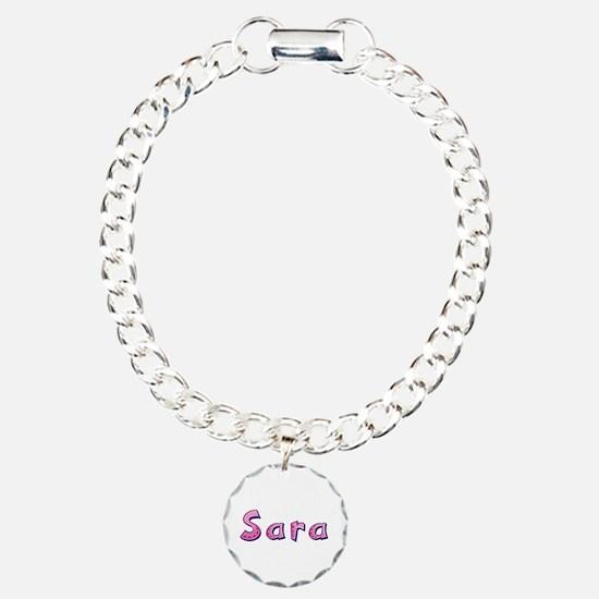 Sara Pink Giraffe Bracelet