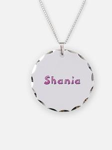 Shania Pink Giraffe Necklace