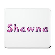 Shawna Pink Giraffe Mousepad