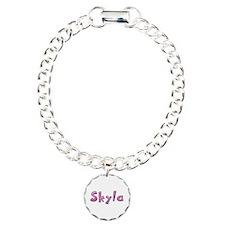Skyla Pink Giraffe Bracelet
