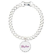 Skyler Pink Giraffe Bracelet